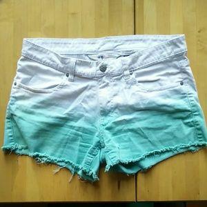 H&M Gradient Cut-Off Shorts